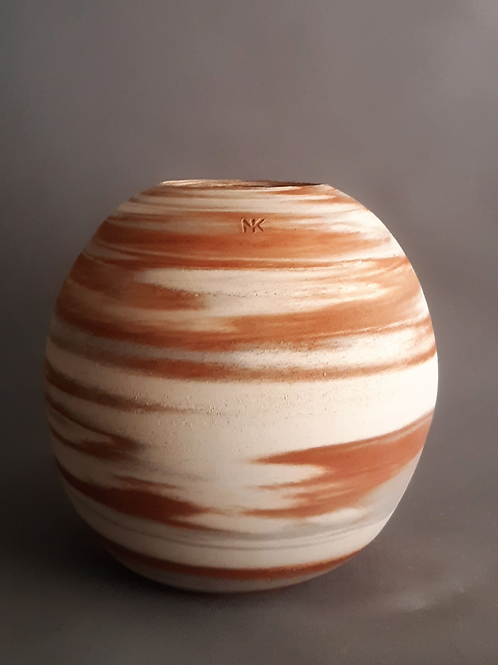 M0036IL  Marble Vase Crater Series