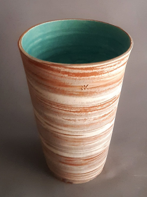 M0037IL  Marble Vase Crater Series