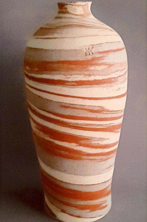 M0045IL  Marble Vase Crater Series