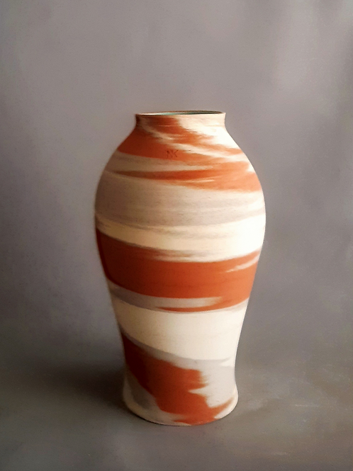 M0031IL  Marble Vase Crater Series