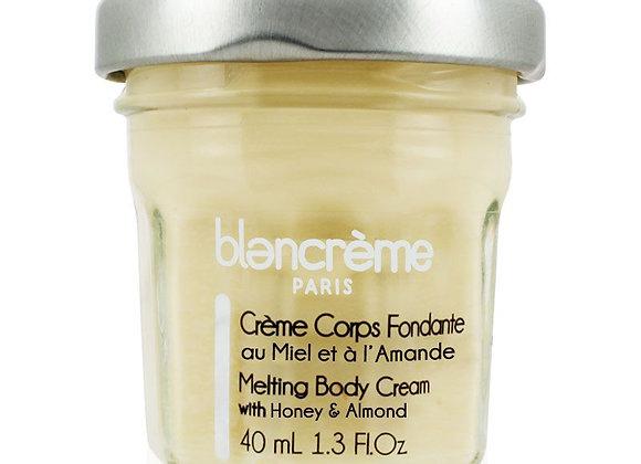 Crème corps fondante Miel & Amande 40ml