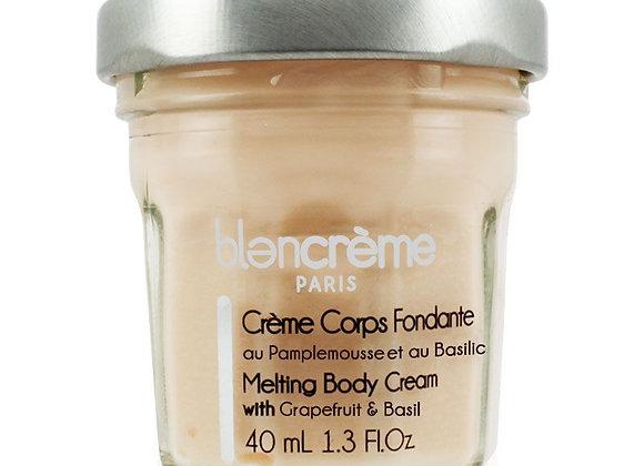 Crème corps fondante Pamplemousse & basilic 40ml