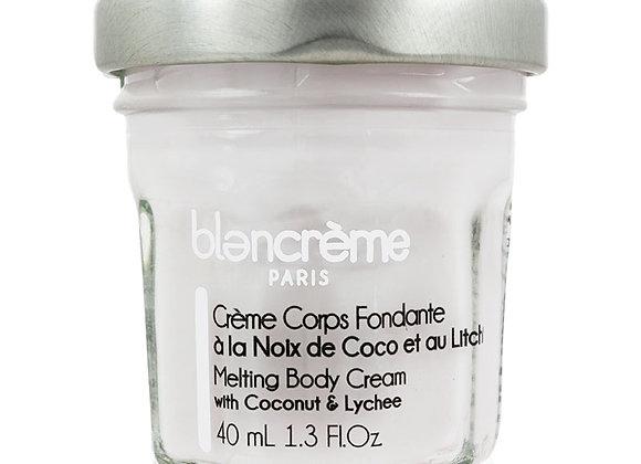 Crème corps fondante Noix de Coco & Litchi 40ml