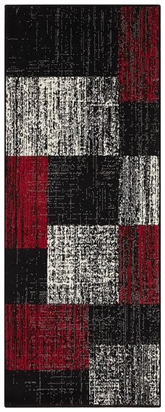 CHODNIK 104311 BLACK RED