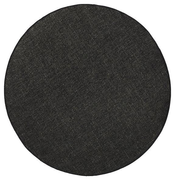 DYWAN OKRĄGŁY 103096 BLACK