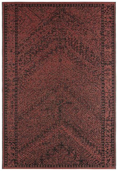 DYWAN 104050 RED TERRA BLACK