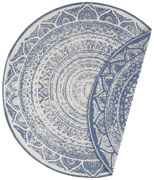 DYWAN OKRĄGŁY 104166 BLUE CREAM