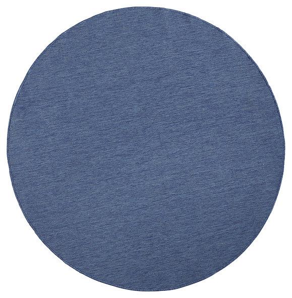 DYWAN OKRĄGŁY 103100 BLUE CREAM