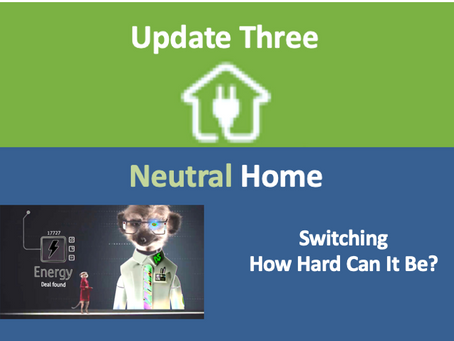 Update 3: Switching - how hard can it be?