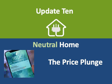 Update 10: The Price Plunge