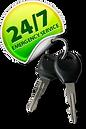 keys on key chain