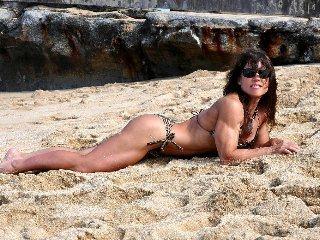 Lying on Beach