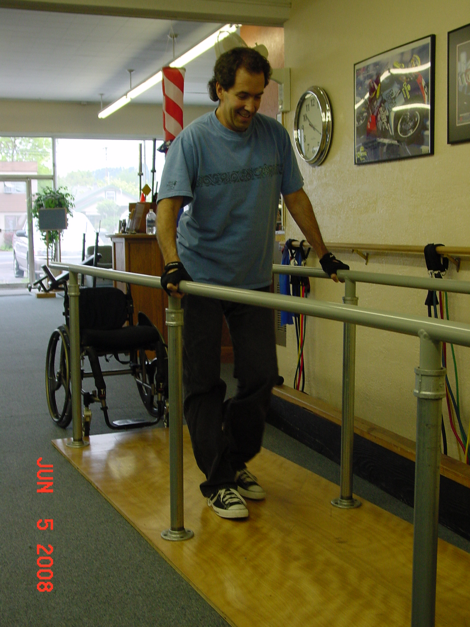 Spinal cord trauma rehab