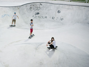Maybole Skatepark to be turned in landing strip for small aircraft!