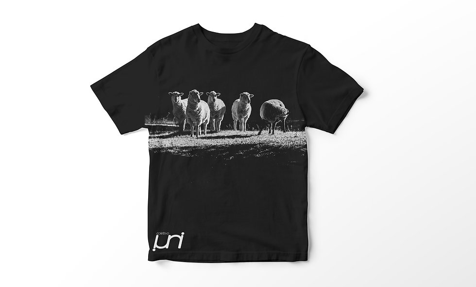 T-shirt Black Sheep Uni