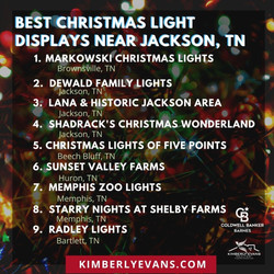 The Best Christmas Light Displays in Wes