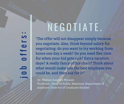 Tip:  Negotiate