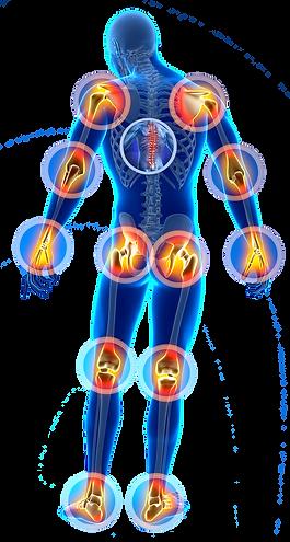 Восстановление после травм, заболевания суставов
