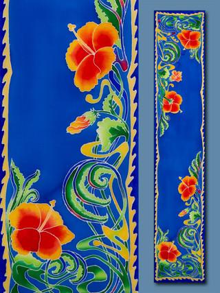 Art Nouveau Hibiscus