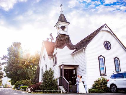 Jennica and Jordan's White Album Wedding Chapel, Chilliwack Summer 2020