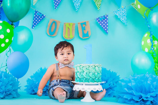 Cake Smash and First Birthday Fun