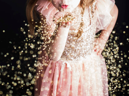 Glitter Photography Session with Rochelle Elise Photography in Vancouver, B.C.