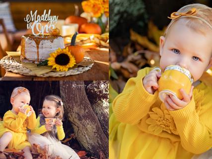 Halloween Autumn 1st Birthday Party