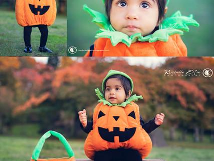 A little pumpkin for Halloween