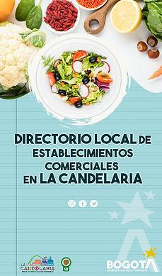 Directorio comercial de La Candelaria