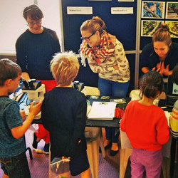 I got to teach tiny kids sciencey things-- so funny!