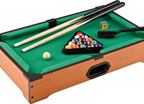 21 inch. Mini Pool Table  (Table Top Game)
