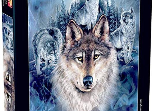 1000 Piece Puzzle - Wolf Team