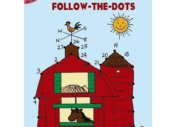 Paperback - Little Farm Follow-the-Dots