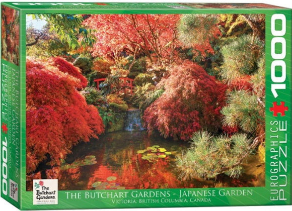 1000 Piece Puzzle - The Butchart Gardens - Japanese Garden