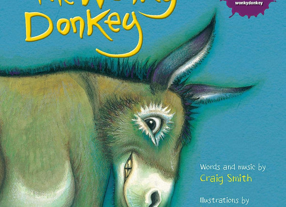 The Wonky Donkey Paperback Book
