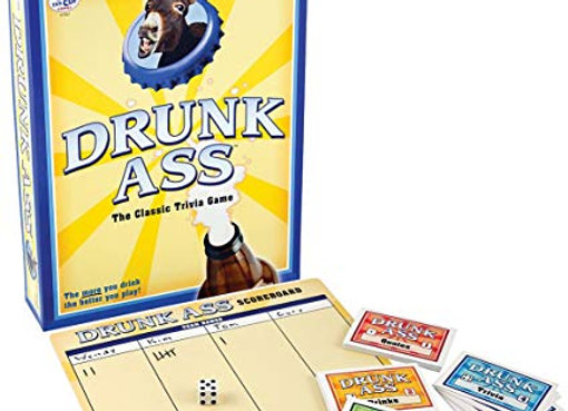 Drunk Ass Party Trivia Game (Ages 21+)