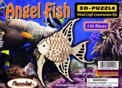 3D Puzzle - Angel Fish