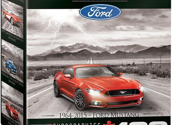 FORD MUSTANG 2015 PUZZLE - 100 PIECES