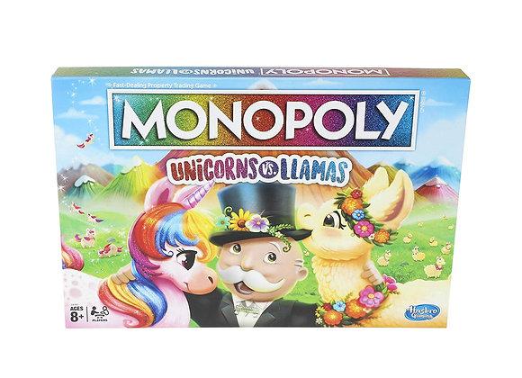Monopoly - Unicorns Vs. Llamas