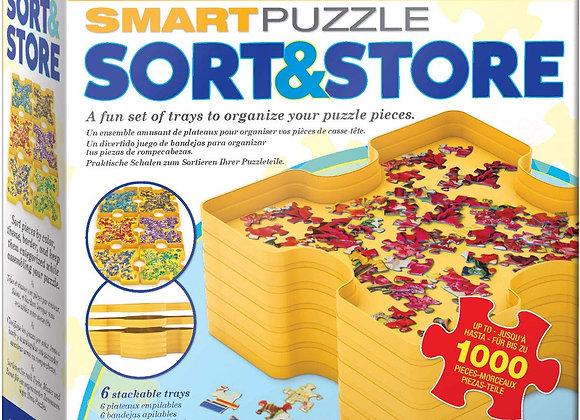 Smart Puzzle Sort & Store
