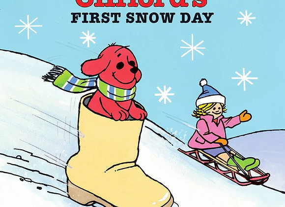 Clifford's First Snow Day (Soft Cover Book)