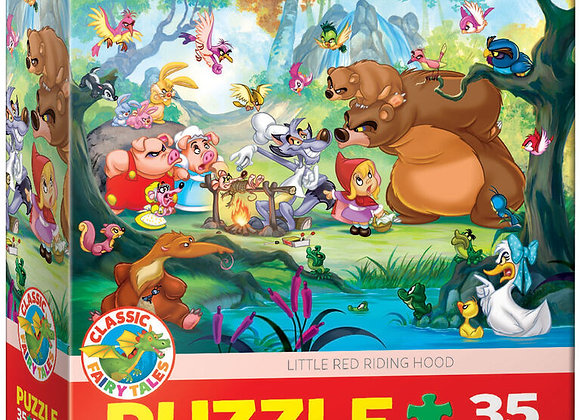 35 Piece Puzzle - Little Red Riding Hood