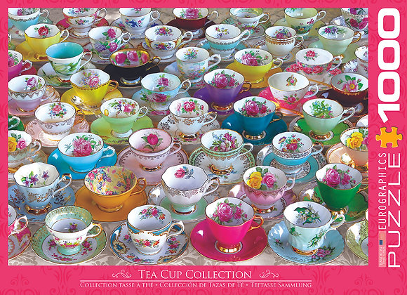 1000 Piece Puzzle - Tea Cup Collection