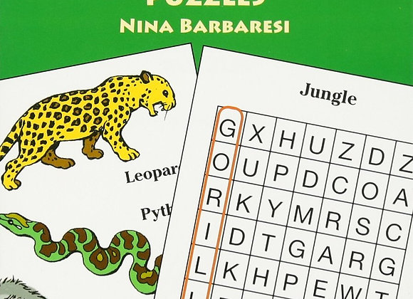 Paperback - Animal Search A Word Puzzles