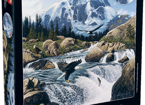 1024 Piece Puzzle - Fishing At Eagle Rocks