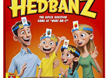 HedBanz Family Quick Question Guessing Board Game