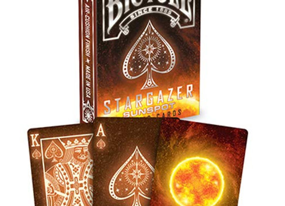 Bicycle - Stargazer Sunspot Playing Cards