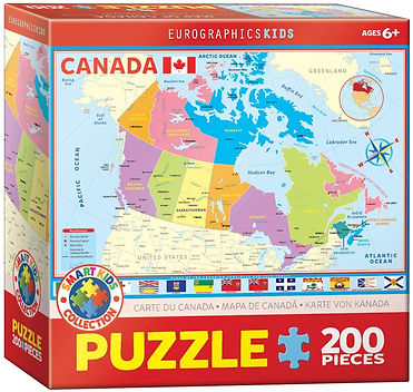 Puzzle 200 - Map Of Canada.jpg