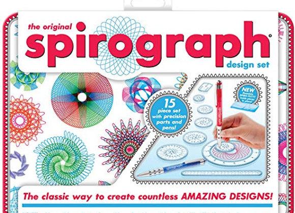 The Original Spirograph (Tin case)