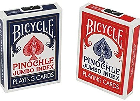 Bicycle - Pinochle Jumbo Index Playing Cards